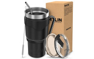 Atlin 30 oz. Double Wall Vacuum Insulation Tumbler