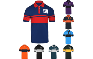 NFL Football Mens Cotton Polo Shirt