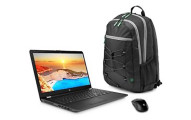 "New HP 15.6"" Touch Win 10 Backpack Bundle"