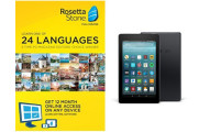 Rosetta Stone 12 Month Subscription with Fire 7 Tablet