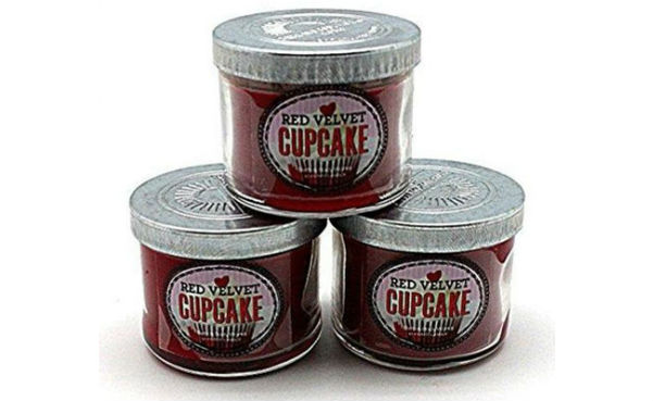 Bath and Body Works Red Velvet Cupcake Scented Candles