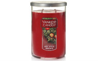 Yankee Candle Large 2-Wick Tumbler Candle, Red Apple Wreath