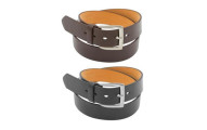 2-pc Barbados Men's Genuine Leather Dress Belts