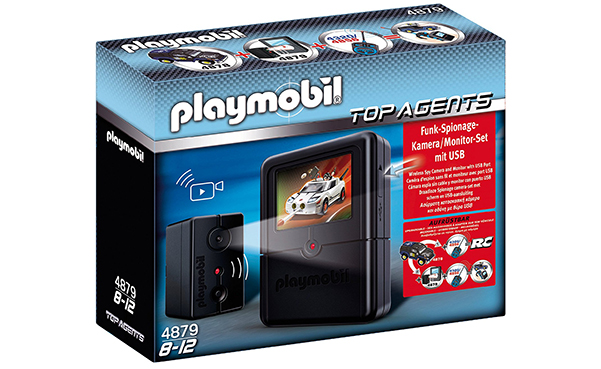 PLAYMOBIL Spying Camera Set Toy