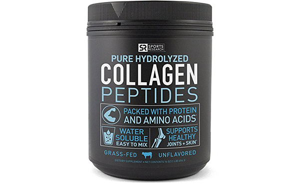 Pure Hydrolyzed Collagen Peptides Dietary Supplement