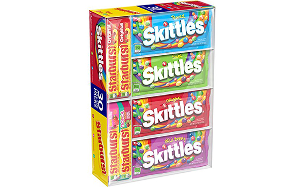 Skittles Starburst Fruity Candy Variety Box