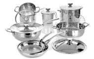 Wolfgang Puck Stainless Steel Cookware Set