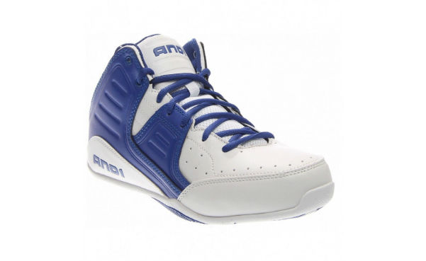 AND1 Rocket Mid White Mens