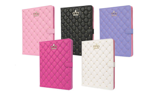 Full Cover Synthetic Leather Case for iPad
