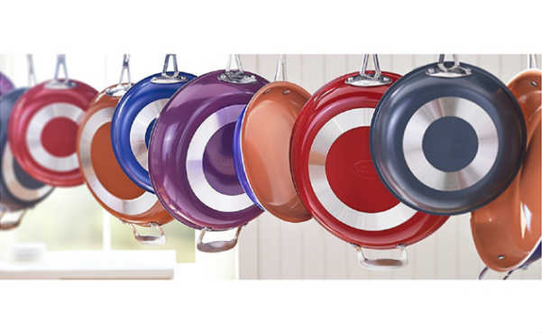 Gotham Steel Colored Frying Pans