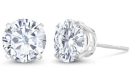 2.00 Ct DEW Timeless Moissanite Studs Earrings