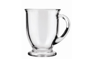 Anchor Hocking Café Glass Coffee Mugs