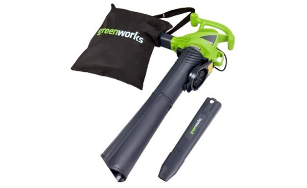 Greenworks Variable Speed Corded Blower Vacuum