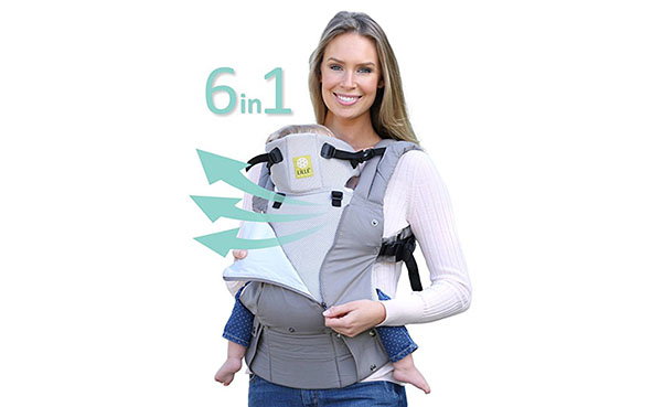 LILLEbaby SIX-Position Ergonomic Baby Carrier