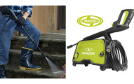 Sun Joe PSI Electric Pressure Washer with Adjustable Spray Nozzle