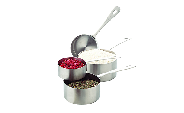 Amco Stainless Steel Measuring Cups