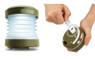 Collapsible Hand Crank USB LED Camping Lantern