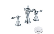 Enzo Rodi Two-Handle Bathroom Faucet with Drain Assembly