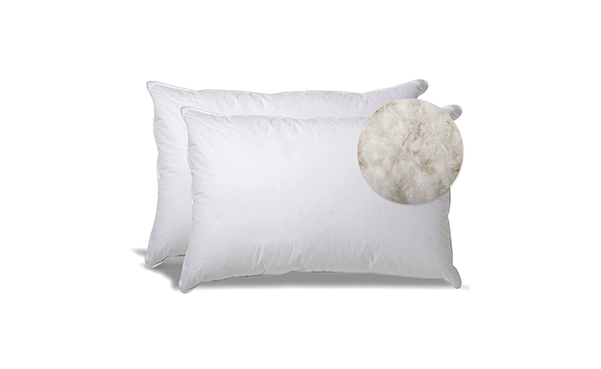 Extra Soft Down Filled Pillow with Cotton Casing