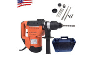 Steel Rotary Hammer Drill with Case