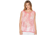 Tommy Hilfiger Women's Paisley Woven Top