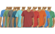 Fruit Of The Loom V-Neck Tees