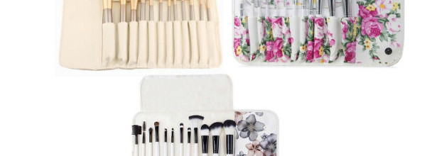 Professional Makeup Brush Set with Pouch