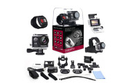 XtremePro 4K Ultra HD Sports Camera Bundle with Wireless Wrist Remote and 20 Accessories