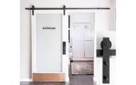 8-Foot Sliding Barn Door Hardware Kit