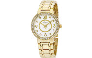 C By Catherine Malandrino Silver Dial Ladies Watch