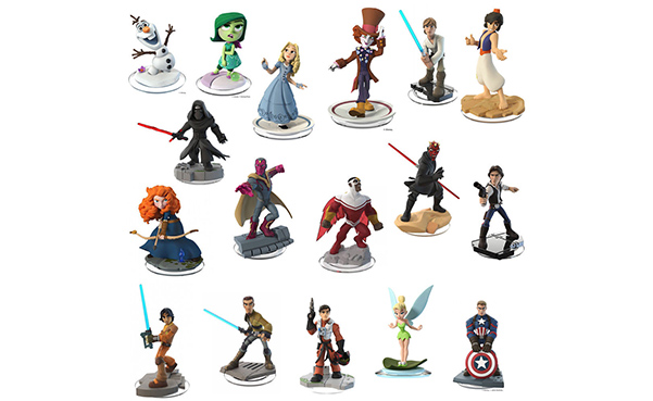 NEW Disney Infinity Characters