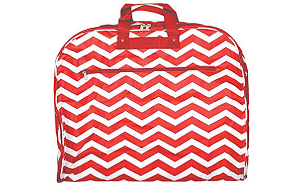 World Traveler 40-inch Chevron Garment Bag