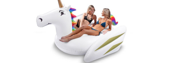 GoFloats Giant Pool Float- Unicorn