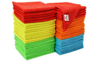 S & T Bulk Microfiber Kitchen, House, Car Cleaning Cloths