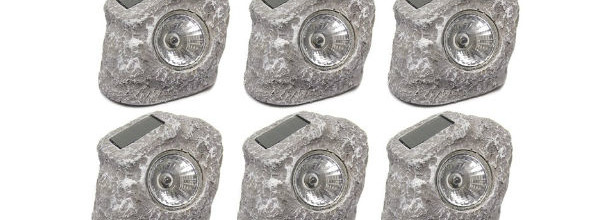 Touch of ECO Sunstone Solar Rock Lights
