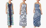 London Times Printed Maxi Dresses