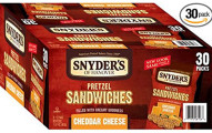 Snyder's of Hanover Pretzel Sandwiches, 30 Count