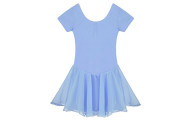 Arshiner Girls' Ruffle Sleeve Skirted Leotard