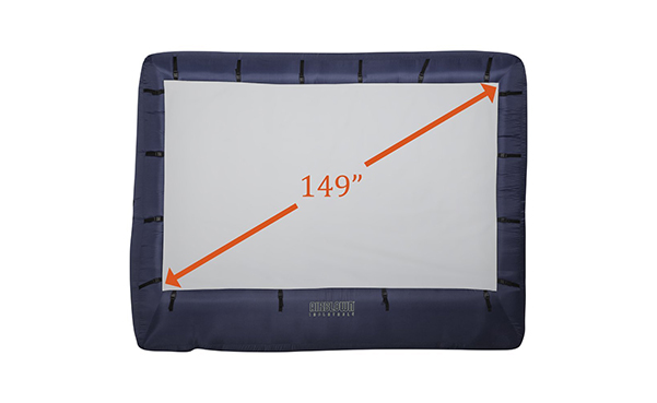 Gemmy Airblown Movie Screen Inflatable