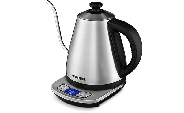 Gourmia Gooseneck Spout Cordless Electric Kettle