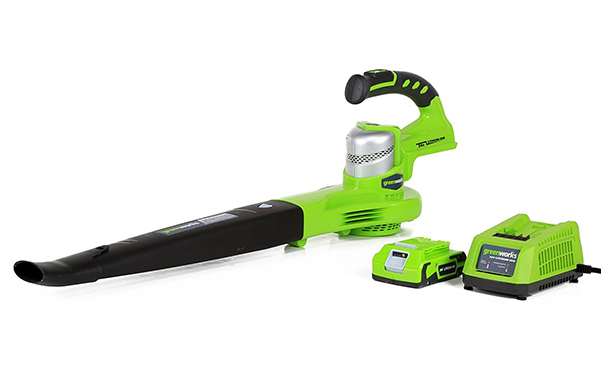 Greenworks 90 130 MPH Dual Speed Cordless Blower