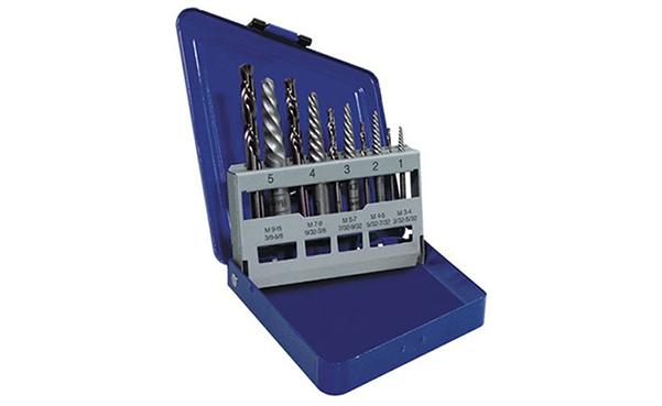 Irwin HANSON Spiral Extractor and Drill Bit Set
