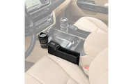 KMMOTORS Console Side Pocket Car Organizer