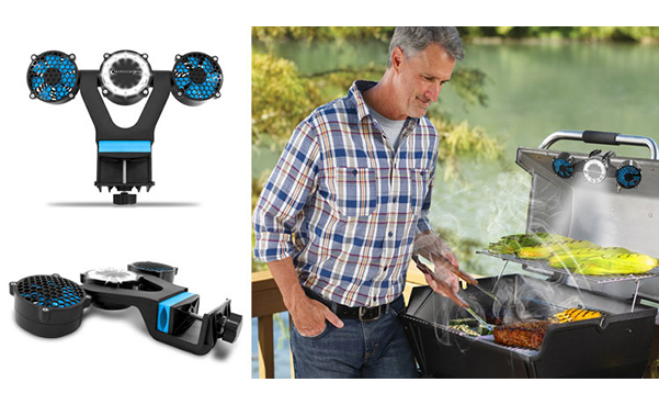 Technical Pro 2-in-1 Barbecue Grill LED Light and Fan