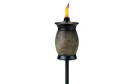 Tiki Brand Resin Jar Torch 4-in-1 Stone Color
