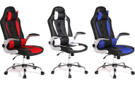 High Back Racing-Style Office Chair