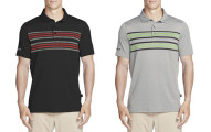 Skechers Men's GOGOLF Folsom Stripe Polo Shirt