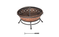 Sunjoy Squaw Valley 35 Steel Fire Pit