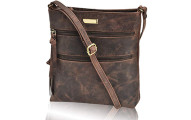 Estalon Leather Crossbody Purse for Women