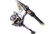 Sougayilang Mini Spinning Fishing Rod and Reel Combos